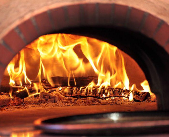 limpeza de forno a lenha